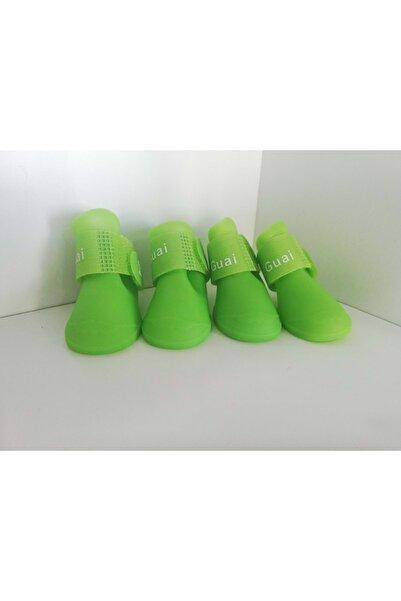 İREM Köpek Ayakkabısı Large Yeşil 5-6 Arası Köpekler Için Uygundur.