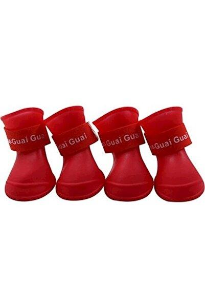 İREM Köpek Ayakkabısı Medium Kırmızı 3-4kg Arası Köpekler Için Uygundur.
