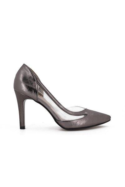 Hobby Kadın Antrasit Stiletto Ayakkabı 612