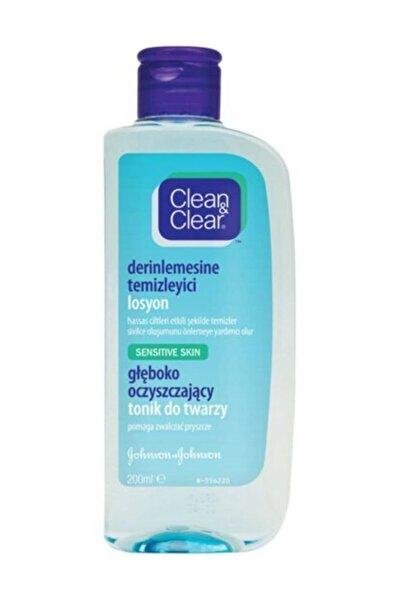 Clean & Clear Hassas Ciltler Için Derinlemesine Temizleyici Losyon 200 ml 8002110326980