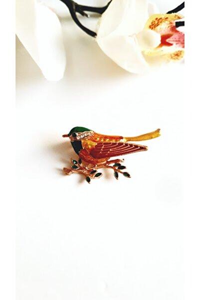 PETEK AKSESUAR Kuş Broş Yaka Iğnesi