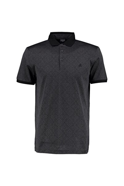 Sarar Kadın Siyah Premium Polo Yaka Tişört