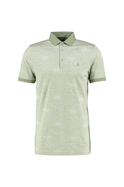 Sarar Erkek Yeşil Polo Yaka T-Shirt