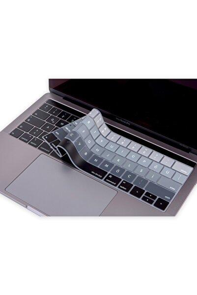 "Mcstorey Macbook Pro Klavye Koruyucu A1706 A1989 A2159 13"" A1707 A1990 15"" Ingilizce Türkçe Baskı Type-c"