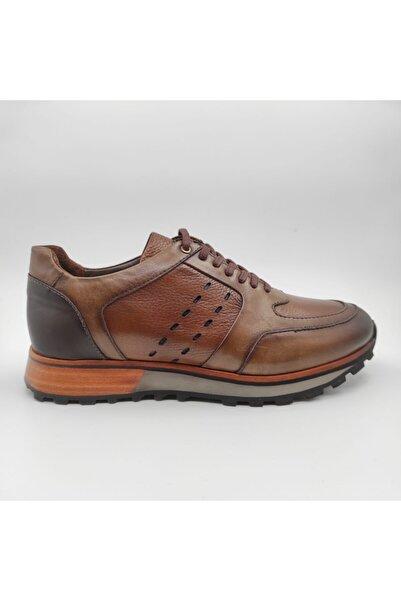 MARCOMEN Erkek Ceviz Deri Casual Ayakkabı
