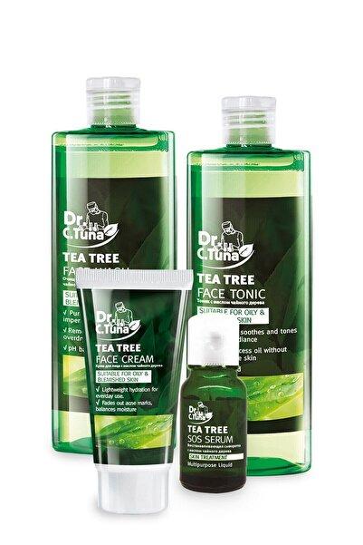 Farmasi Dr. C. Tuna Çay Ağacı 4'lü Yüz Bakım Seti