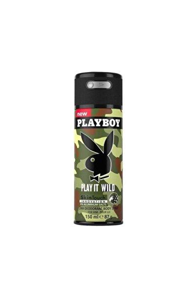 Playboy Play It Wild Man Deodorant 150 Ml