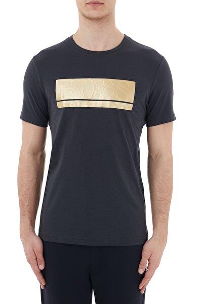 Hugo Boss Regular Fit Baskılı Bisiklet Yaka Pamuklu T Shirt Erkek T Shirt 50435898 402