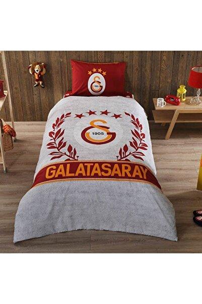 Kristal By Taç Taç Lisanslı Galatasaray Grey Tek Kişilik Nevresim Takımı 8693458000293