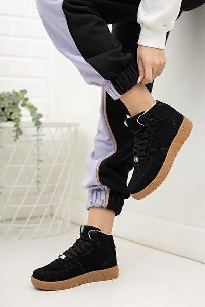 MUGGO Unisex Siyah Sneaker