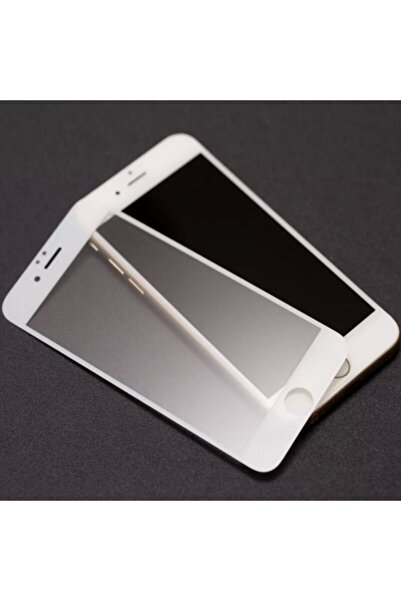 Sunix Iphone 7 Plus Mat Kırılmaz Cam Nano Parmak Izi Bırakmaz Beyaz