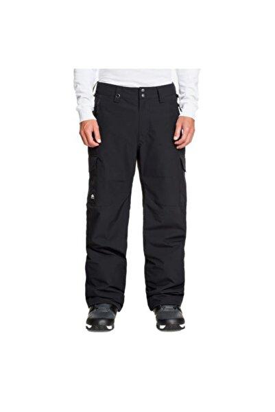 Quiksilver Erkek Siyah Cepli  Spor Pantolon
