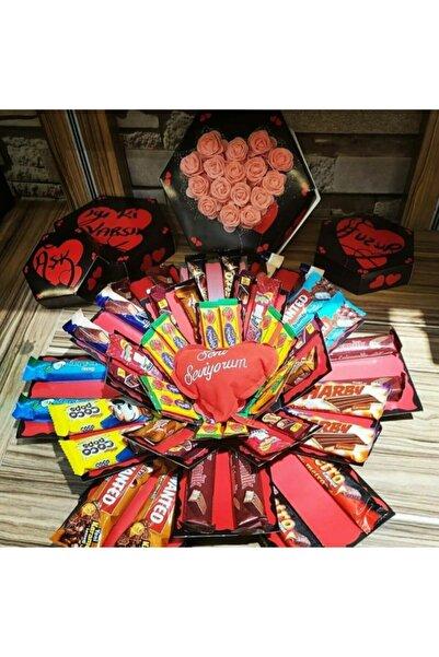 1001Hediye Çikolata Kutusu Patlayan Kutu