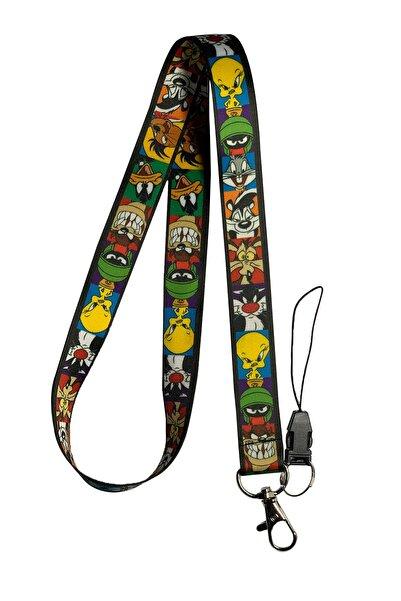 StormiStoretr Looney Tunes Boyun İpi ve Telefon Askısı