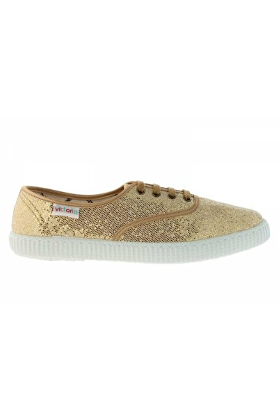 Victoria Kadın Altın Renk Günlük Ayakkabı