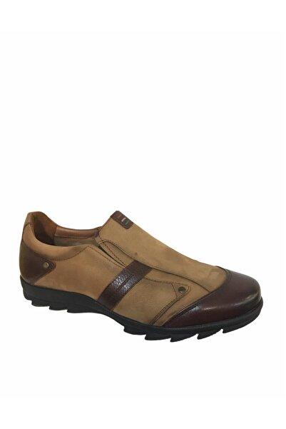 MARCOMEN Erkek Açık Kahverengi Hakiki Deri Ayakkabı