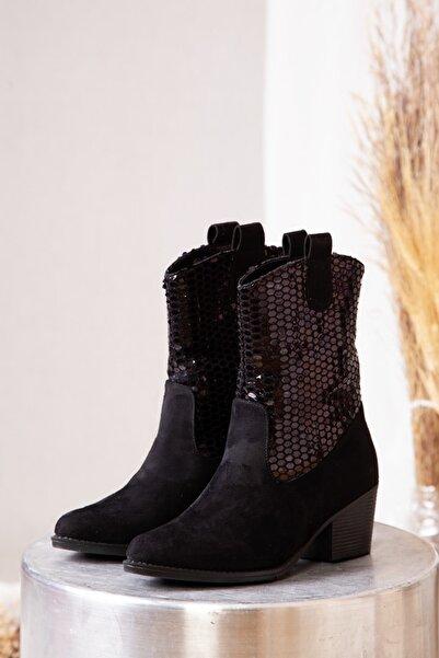 ayakkabıhavuzu Kadın Siyah Bot  1790740