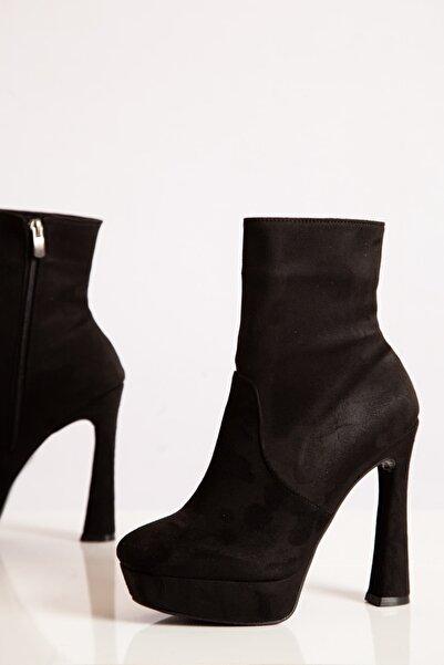 ayakkabıhavuzu Kadın Siyah Bot  1800239