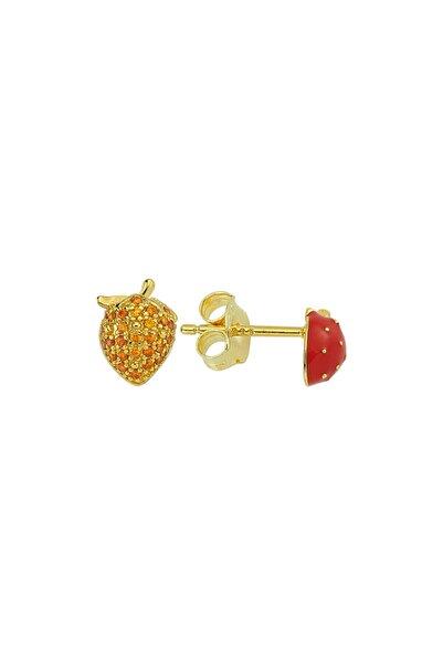 Luzdemia Strawberry Earr. 925