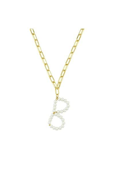 Luzdemia Pearl Petite B In. Necklace