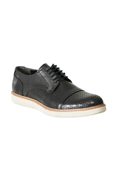 ALTINYILDIZ CLASSICS Erkek Siyah Casual Rahat Deri Ayakkabı