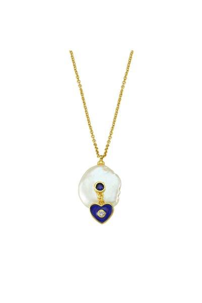 Luzdemia Heart Pearl Necklace