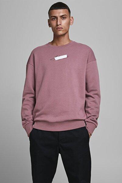 Jack & Jones Erkek Rose Sweatshirt 12182207