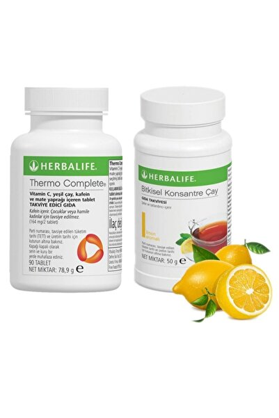 Herbalife 1 Adet Thermo + 1 Adet 50 gr Cay