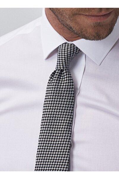 ALTINYILDIZ CLASSICS Erkek Beyaz Ütü Gerektirmeyen Non-Iron Tailored Slim Fit Gömlek