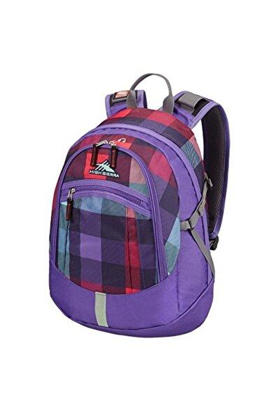 High Sierra Unisex Mor Sportıve Packs 67026 4661 X50 (0) 05003 Overton2 Purple Checks Sırt Çantası