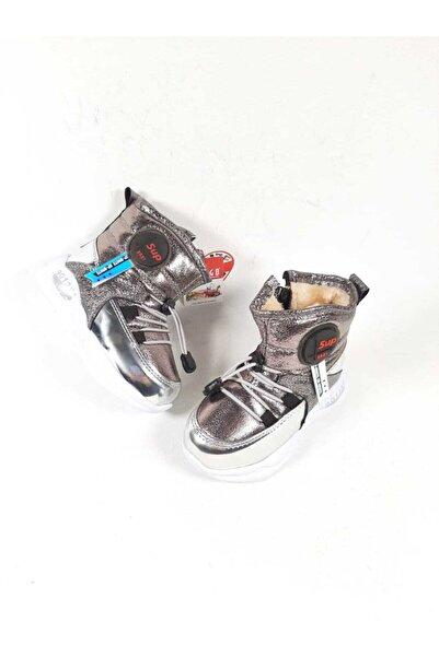 Twingo Çocuk Gümüş Deriland  Spor Bot Ayakkabı