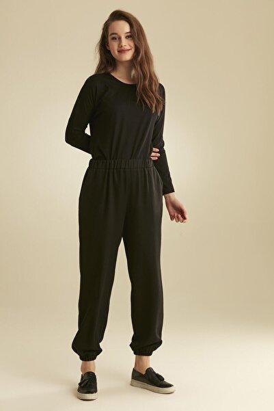 Tuğba Kadın Siyah Pantolon