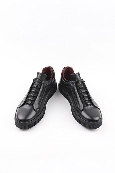 Buffalo Erkek Siyah El Yapımı Collection Ayakkabı