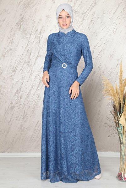 Stilkabin Kadın Mavi Tanem Abiye 6525