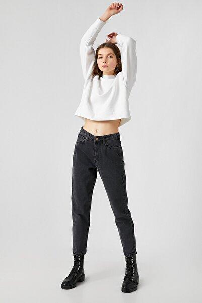 Koton Kadın Gri Jeans 1KAK47191MD