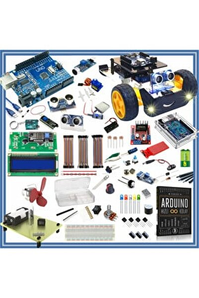 Başlangıç Seti Uno R3 Full 105 Parça 325 Adet --