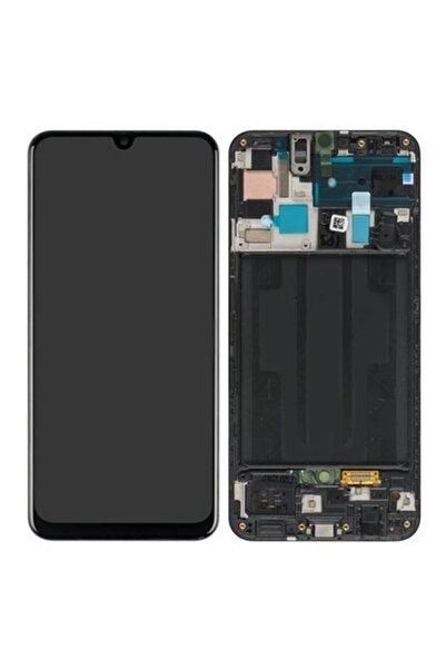 Samsung Galaxy A50 Sm-a505 Lcd Ekran Dokunmatik Servis Orjinali Çıtalı