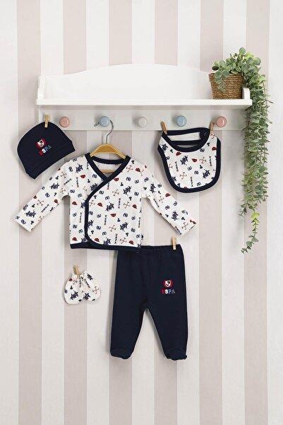 U.S. Polo Assn. Kids U.s. Polo 5 Li Zıbın Hatane Çıkışı Erkek Bebek Krem