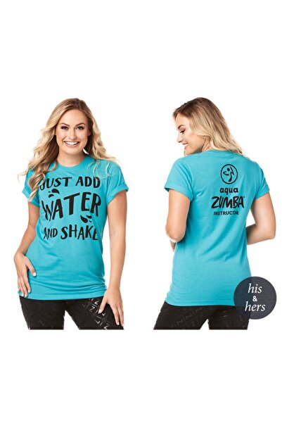 ZUMBA Just Add Water Aqua Instructor Tee