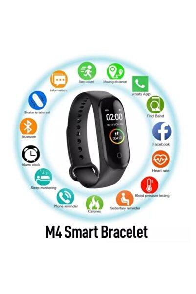 Mmctech M4 Akıllı Bileklik Saat Watch Band Kalp Ritim Koşu Spor Uykutakip