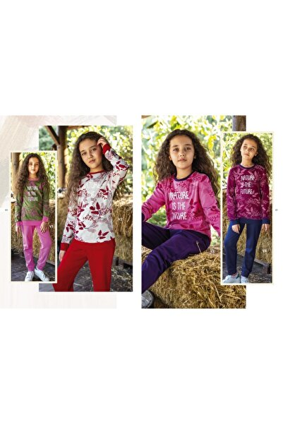 Elsima Modüler Çocuk Pijama Takımı - Haki