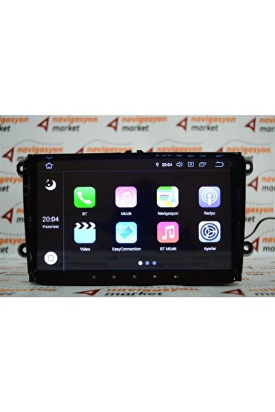 For-X Vw Scirocco Android 4+32 Gb Multimedya Navigasyon Oem Oto Teyp