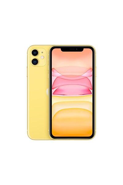 Apple iPhone 11 128GB Sarı Cep Telefonu (Apple Türkiye Garantili) Aksesuarsız Kutu