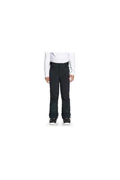Roxy Unisex Çocuk Siyah Snowboard Pantolon