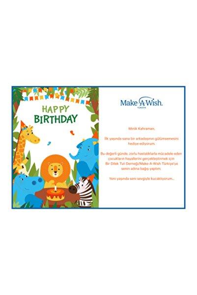 Bir Dilek Tut Derneği BDT - Orman Temalı Doğum Günü Sertifikası