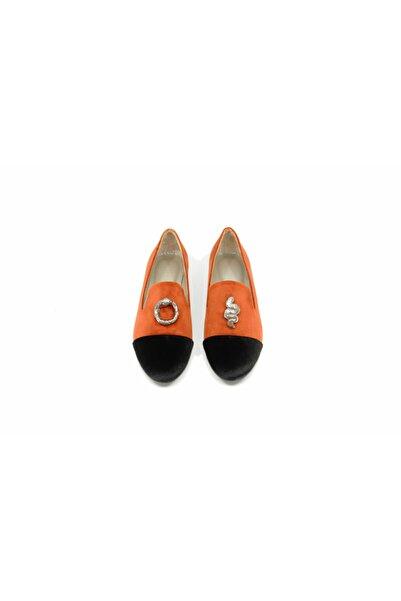 MAKIELA Kadın Turuncu Casual Ayakkabı