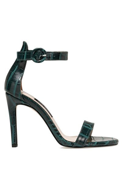 Nine West Kadın Yeşil Lındıt Topuklu Sandalet