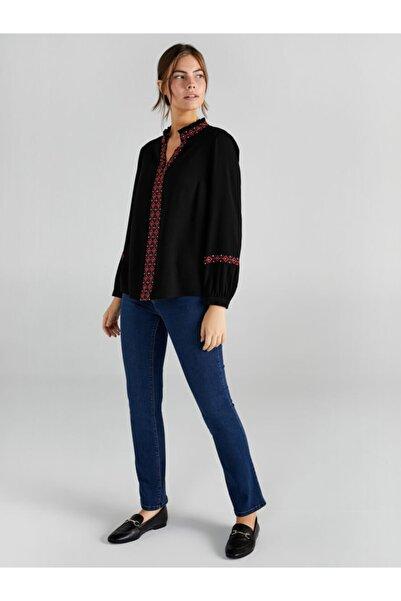 Faik Sönmez Kadın Siyah Bluz