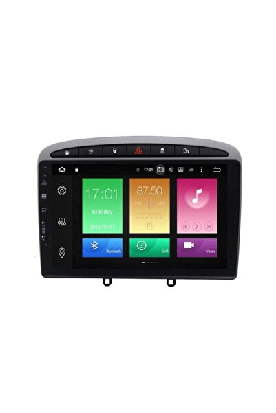Navimex Peugeot 308 Carplay Android 10 Multimedya Ekran Navigasyon-