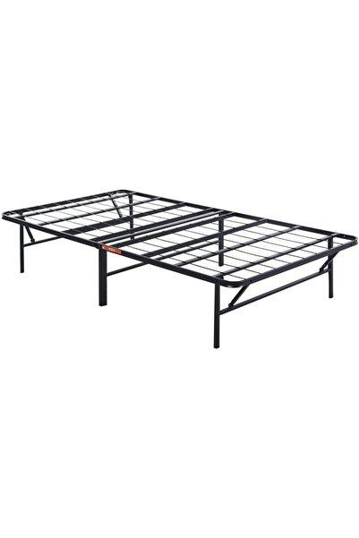 kraker Metal Katlanabilir Yatak Kolay Katlanıp Muhafaza Edilebilir Metal Folding Bed